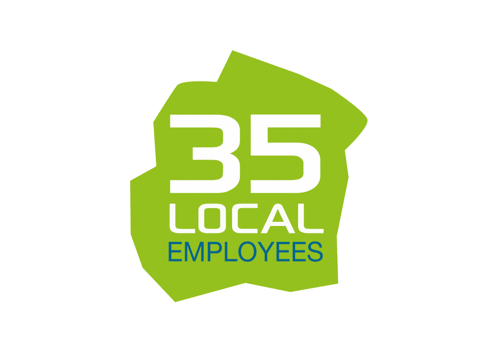 About us - 35 Local infographic