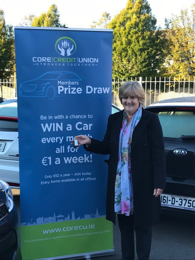 October Prize Draw Winner