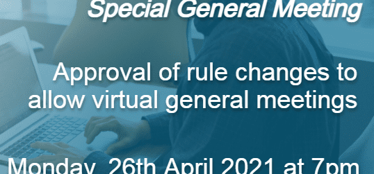 Notice of Special General Meeting