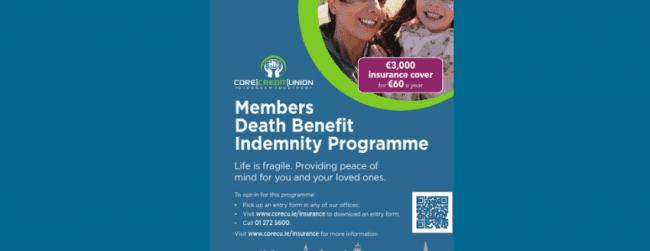 Members Death Benefit Indemnity Programme